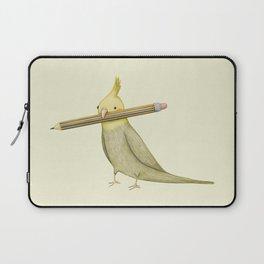 Cockatiel & Pencil Laptop Sleeve