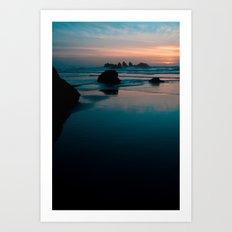 bandon beach blues. Art Print