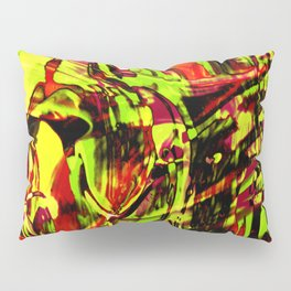 Fluid Painting 2 (Yellow Version) Pillow Sham