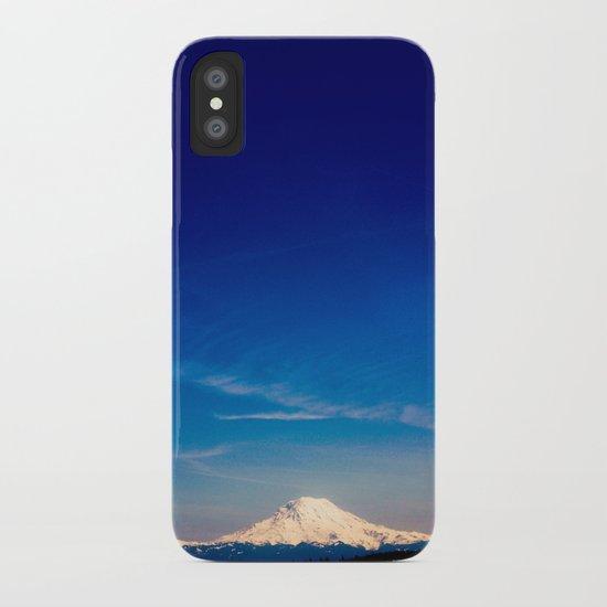 Mt. Rainier . ii iPhone Case