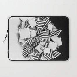 Abstract Pyramid 3D Illustration Laptop Sleeve