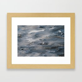 Between Winter and Spring 3 Framed Art Print