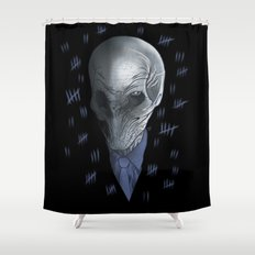 Silent 93 Shower Curtain