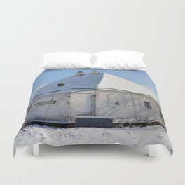 the old building of the Treasury Duvet Cover