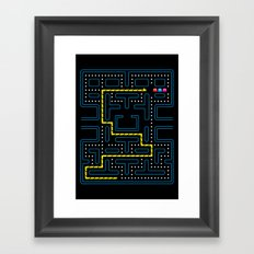 Hungry & Lost Framed Art Print