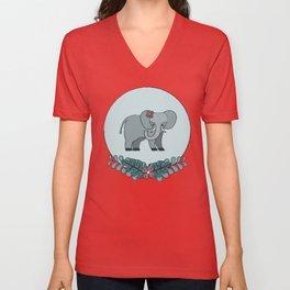 Elephant Walk Unisex V-Neck