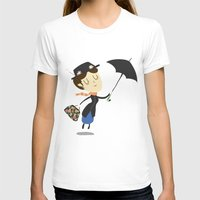 mary poppins T-shirts featuring Mary Poppins by Rod Perich