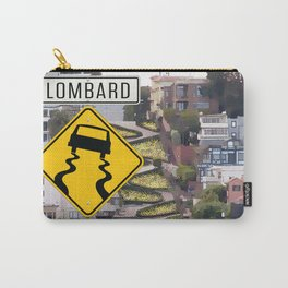 Lombard Street - San Francisco Carry-All Pouch