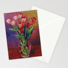 A Table For Tulips Stationery Cards