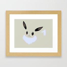 Shiny Eevee Framed Art Print