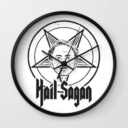 Hail Sagan Wall Clock