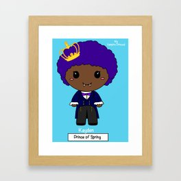 Kayden - My Vampire Princes! Framed Art Print