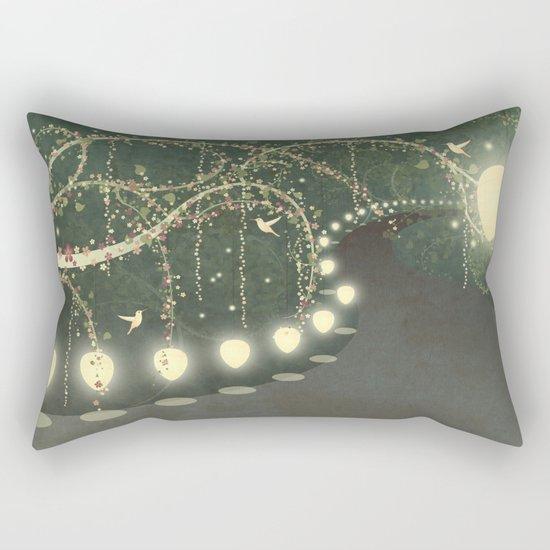 Guiding Lights Rectangular Pillow