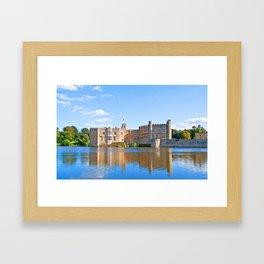 Leeds Castle Reflections 3 Framed Art Print