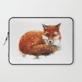 Sleeping Red Fox Laptop Sleeve