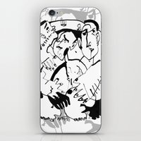 drunk iPhone & iPod Skins featuring Drunk by 5wingerone