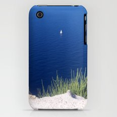 Lonely sailboat off the Mediterranean coast iPhone (3g, 3gs) Slim Case