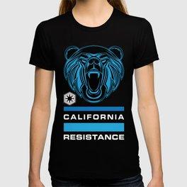 California Resistance Bear Flag T-shirt