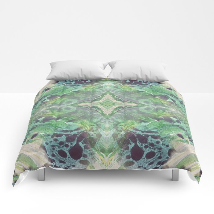 Abstract Texture Comforters