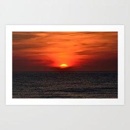 so sunset! Art Print