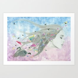 """""""The age of miracles"""" Art Print"""