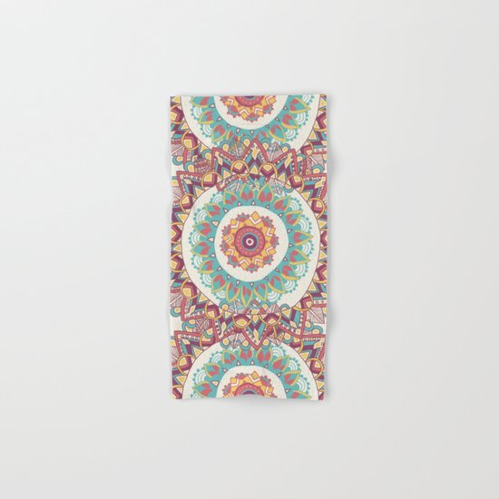 Midsummer Mandala Hand & Bath Towel