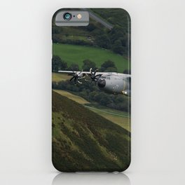 Airbus A400M At Mach Loop iPhone Case