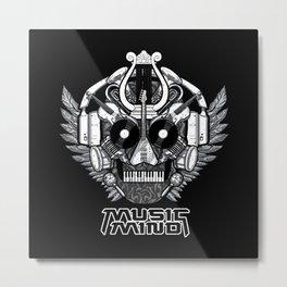 Music Mind Metal Print