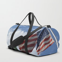 I Proudly Stand . . . I Don't Kneel Duffle Bag