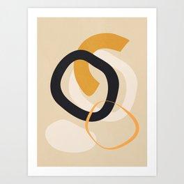 Abstract Shapes 46 Art Print