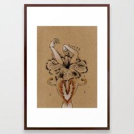 Limb Lilly Framed Art Print