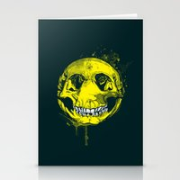 be happy Stationery Cards featuring happy by Steven Toang