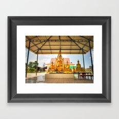 Shrine #4 Framed Art Print