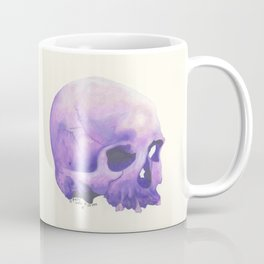 Purple Skull Coffee Mug