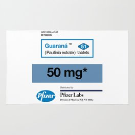 Kitchen Posters - Viagra/Guarana Rug