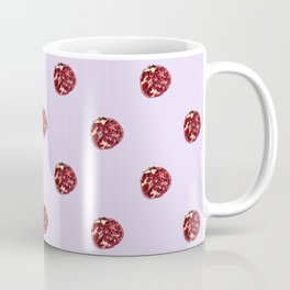 Pomegranates Grid Pink Coffee Mug