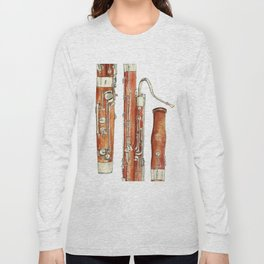 Bassoon Long Sleeve T-shirt