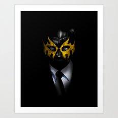 SOLAR SQUAD MAN Art Print