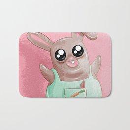 Bunny Rabbit Bath Mat