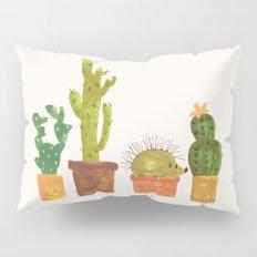 Hedgehog and Cactus (incognito) Pillow Sham