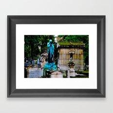 The Lady Weeps Framed Art Print
