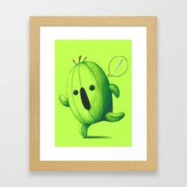 Cactuar Chibi Framed Art Print