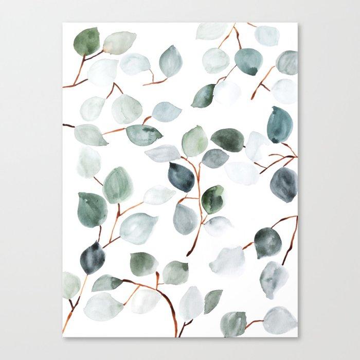 Eucalyptus Leinwanddruck