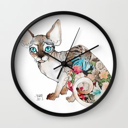 sphinx cat Wall Clock