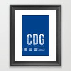 CDG Framed Art Print
