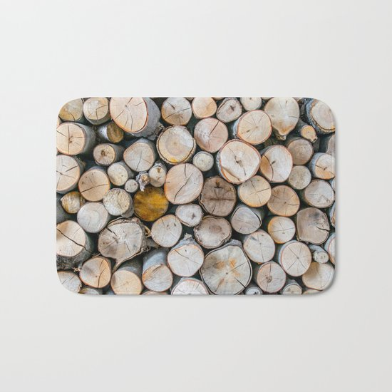 Logged Bath Mat