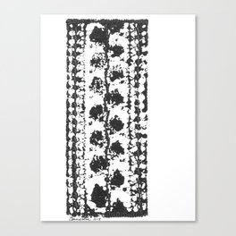 Crochet Impressions: LEAVES Canvas Print
