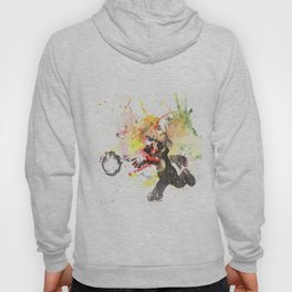Mario Throwing Fireball Hoody