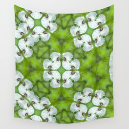 Silky Camellia Wall Tapestry