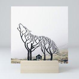 Lone Wolf Mini Art Print